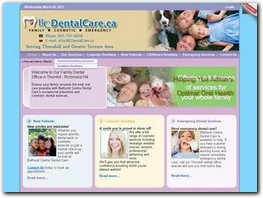 https://www.bcdentalcare.ca/ website