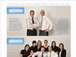 https://www.advancedentalni.com/cosmetic-treatments.html website