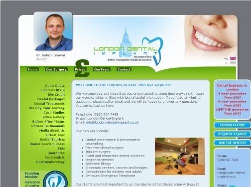 https://www.london-dental-implant.co.uk/ website