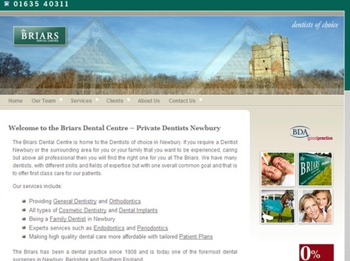 https://www.briarsdentalcentre.com/homepage/ website